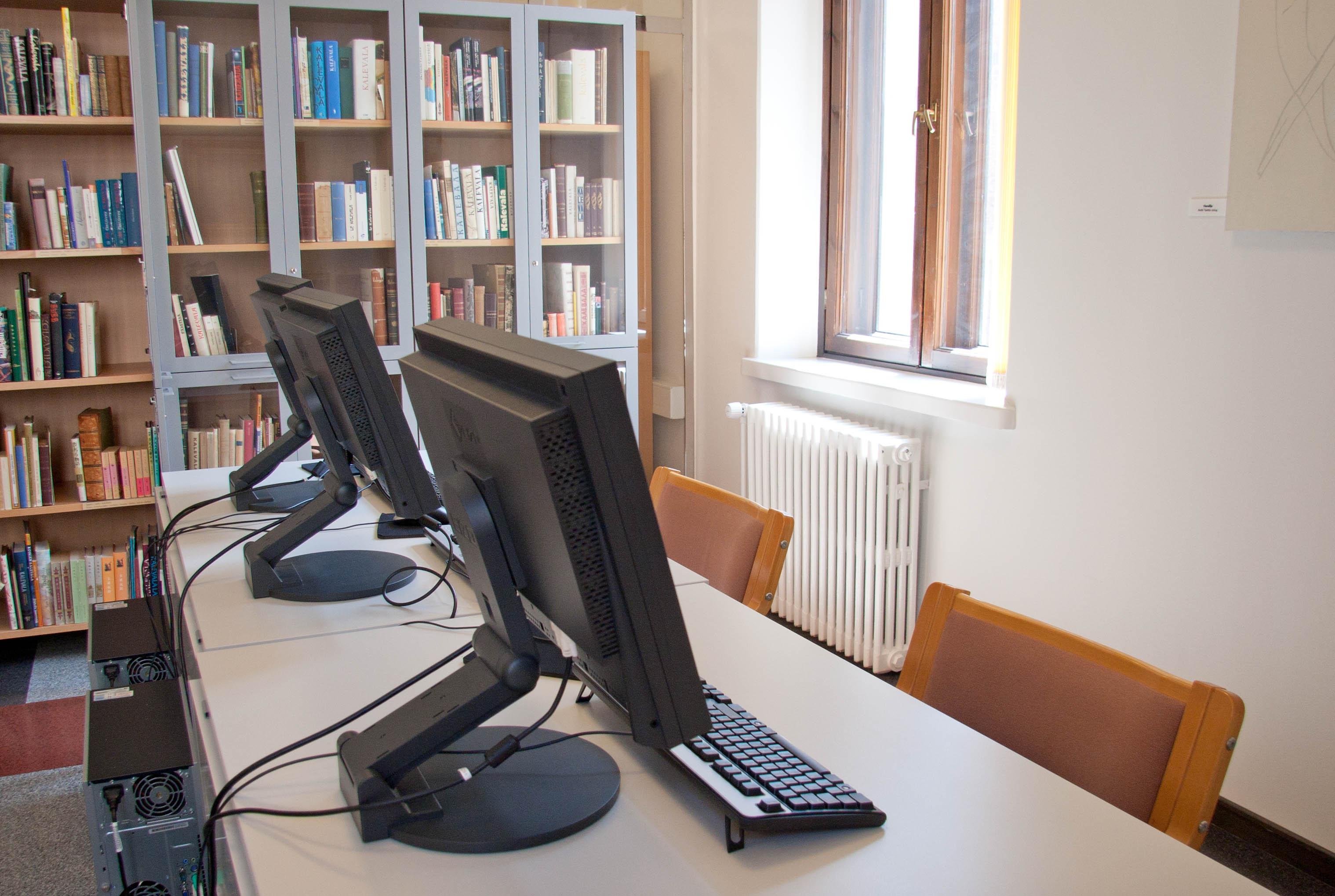 Kirjaston opetustila