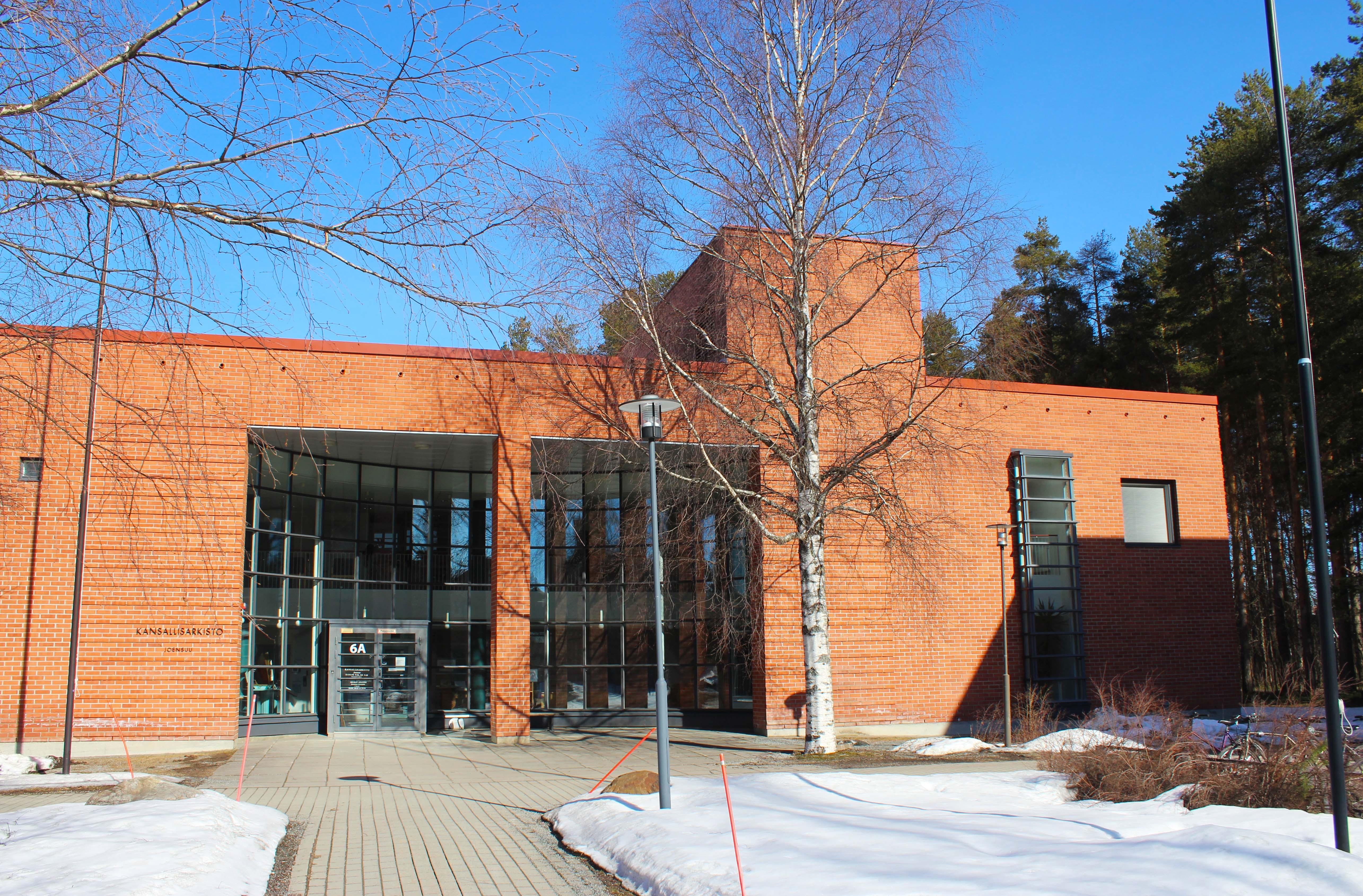 SKS:n arkiston Joensuun toimipiste. Kuva: Mikko Eronen. SKS.