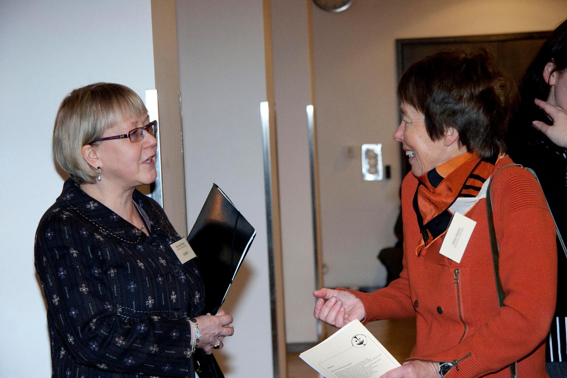 Finnish Oral History Network, FOHN, seminaari 2012. SKS. Kuvaaja: Milla Eräsaari