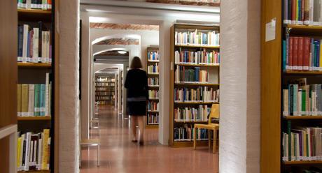 Kirjaston avokokoelmatila