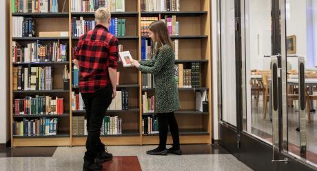 SKS:n kirjasto. Gary Wornell, SKS 2020.