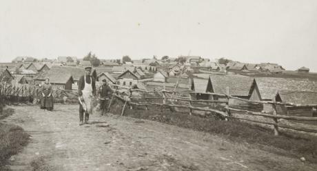 SKS Archives: E171 / Ingrica III, Samuli Paulaharju, Ingria, 1911.