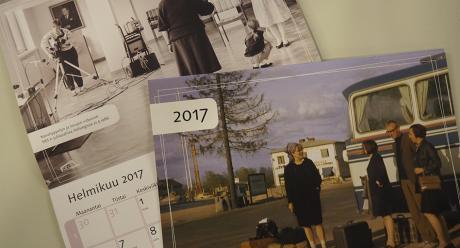 SKS:n kalenteri 2017. Kuva: Laura Tikkanen