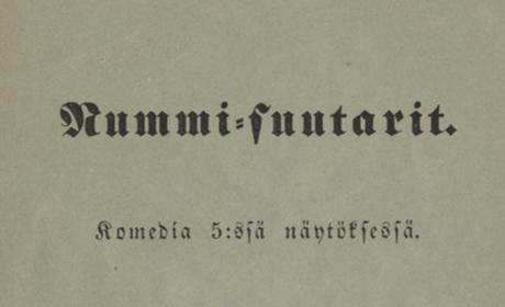 Aleksis Kivi. Nummisuutarit – kriittinen editio
