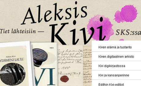 Tiet lähteisiin – Aleksis Kivi SKS:ssa