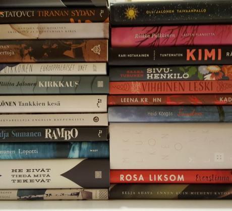 Kääntäjien lukupiirikirjoja muutaman viime vuoden ajalta
