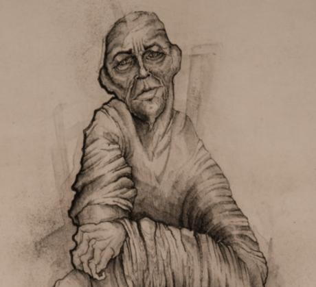 Freire Santa Cruz, Kauna. Kuva on julkaistu Kalevalaseuran Taiteilijoiden Kalevala -hankkeessa.