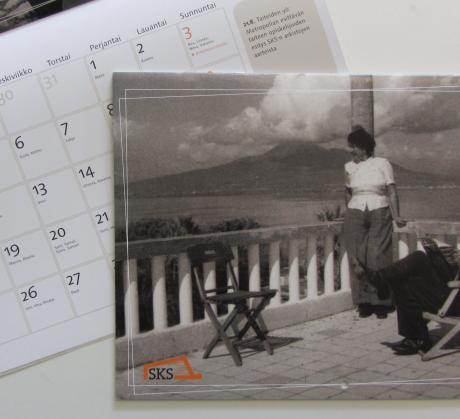 SKS:n kalenteri 2014. Kuva: Laura Tikkanen