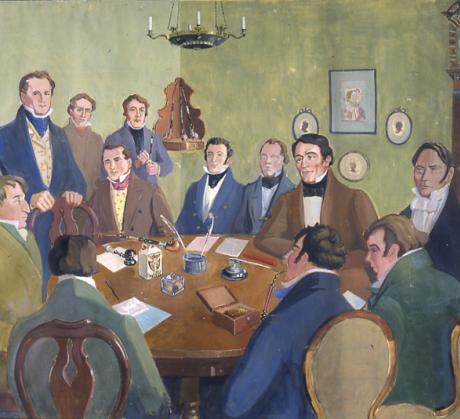 SKS:n perustava kokous 16.2.1831