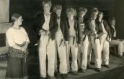 Seitsemän veljestä, Helsingin Kansanteatteri, 1934. Kuva: Ortho / Teatterimuseon arkisto.
