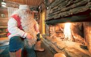 Joulupukki. Kuva: Visit Finland/Juho Kuva